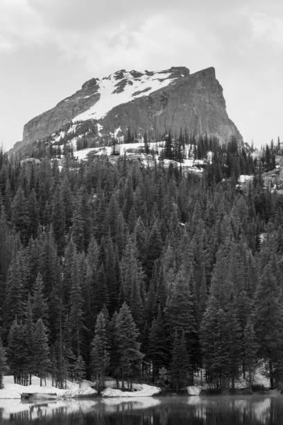 Mountain at Bear Lake. Rocky Mountain National Park Mountain at Bear Lake. Rocky Mountain National Park rocky mountain national park stock pictures, royalty-free photos & images