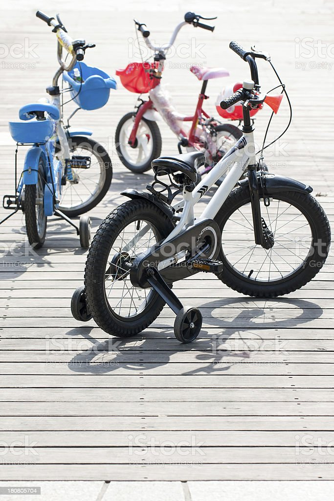 Mountain Bicycle for Kids royalty-free stock photo