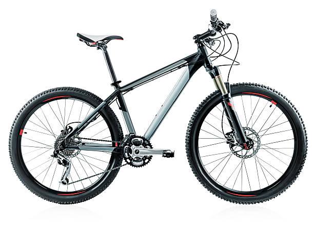 bicicleta de montaña - bastidor de la bicicleta fotografías e imágenes de stock