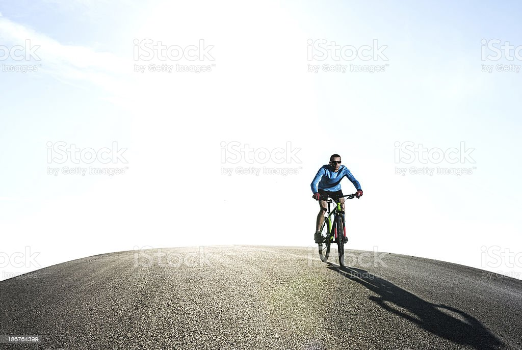 Mountain Bike Entertainment royalty-free stock photo
