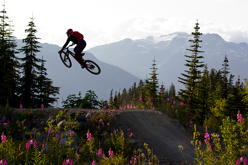 Mountain Bike Jump Canada