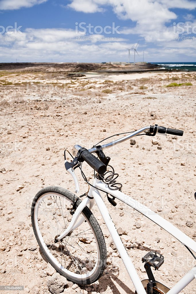Mountain Bike. Off road adventure. royalty-free stock photo