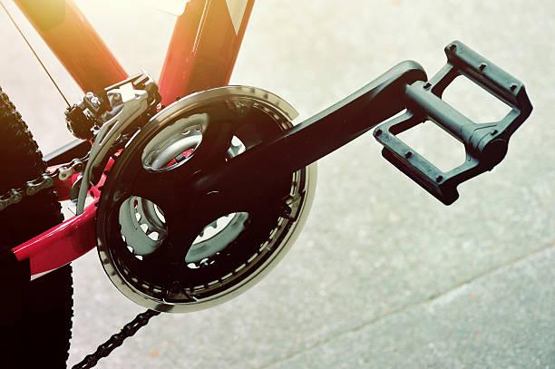 mountain bike part - pedal fotografías e imágenes de stock