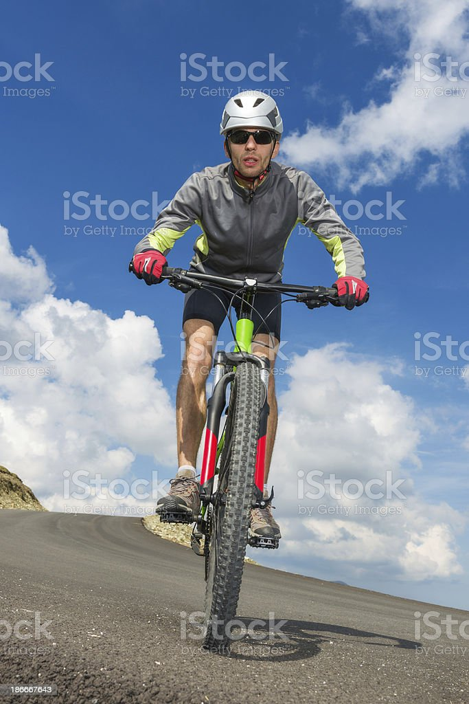 Mountain Bike Passion royalty-free stock photo
