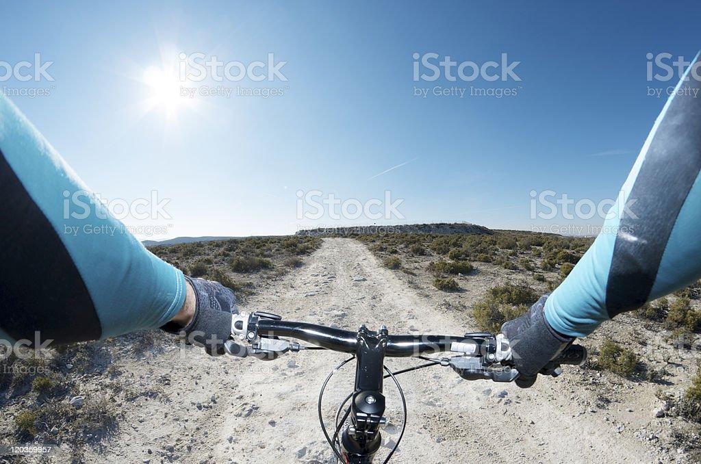 Montaña bike - foto de stock