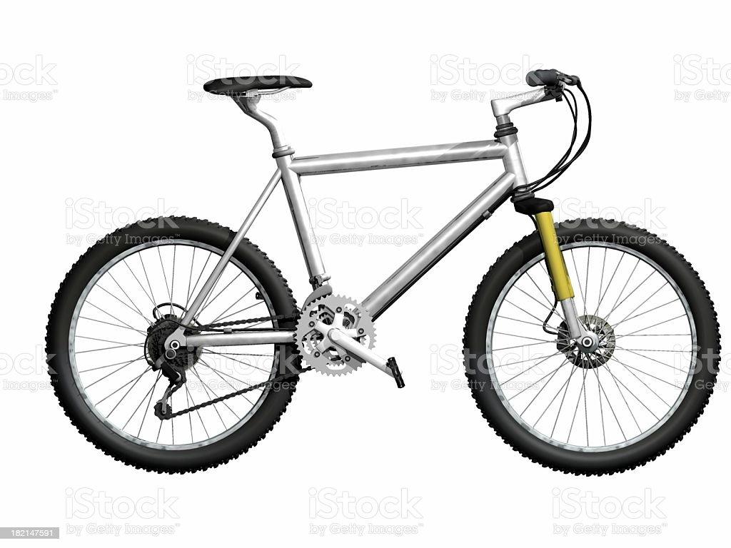 Mountain Bike - Lizenzfrei Altmetall Stock-Foto