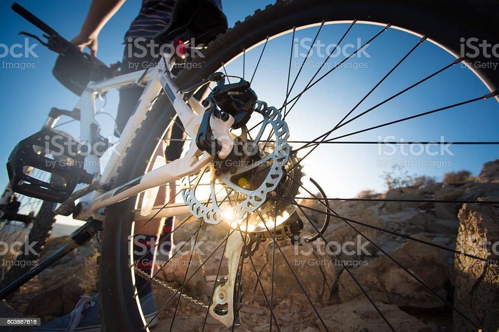 Mountain Bike stock photo