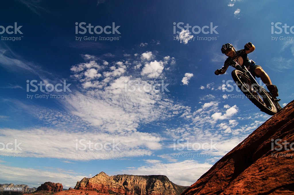 Mountain Bike Sport Activity Panorama - Royalty-free 2015 Stockfoto