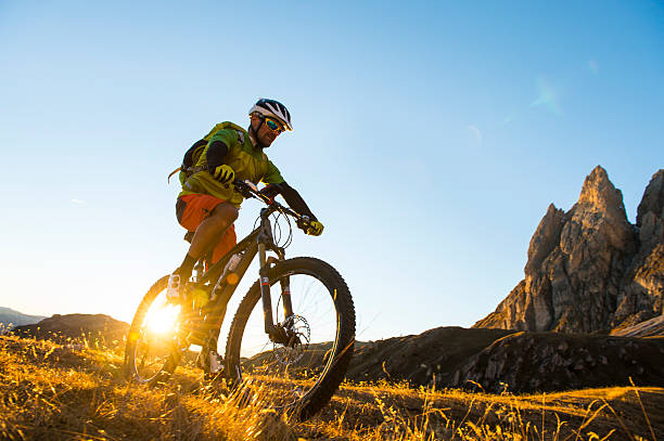 Mountainbiker attack – Foto