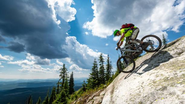Mountainbiken im Skigebiet – Foto