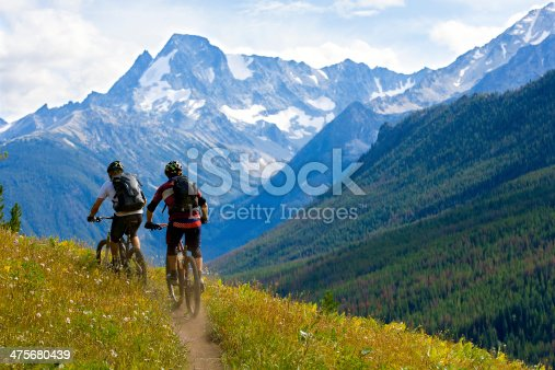 istock Mountain Biking British Columbia 475680439