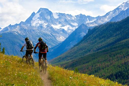 istock Mountain Biking British Columbia 475680439