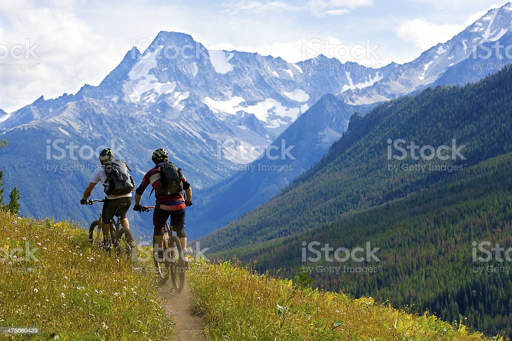 Mountainbiken British Columbia – Foto
