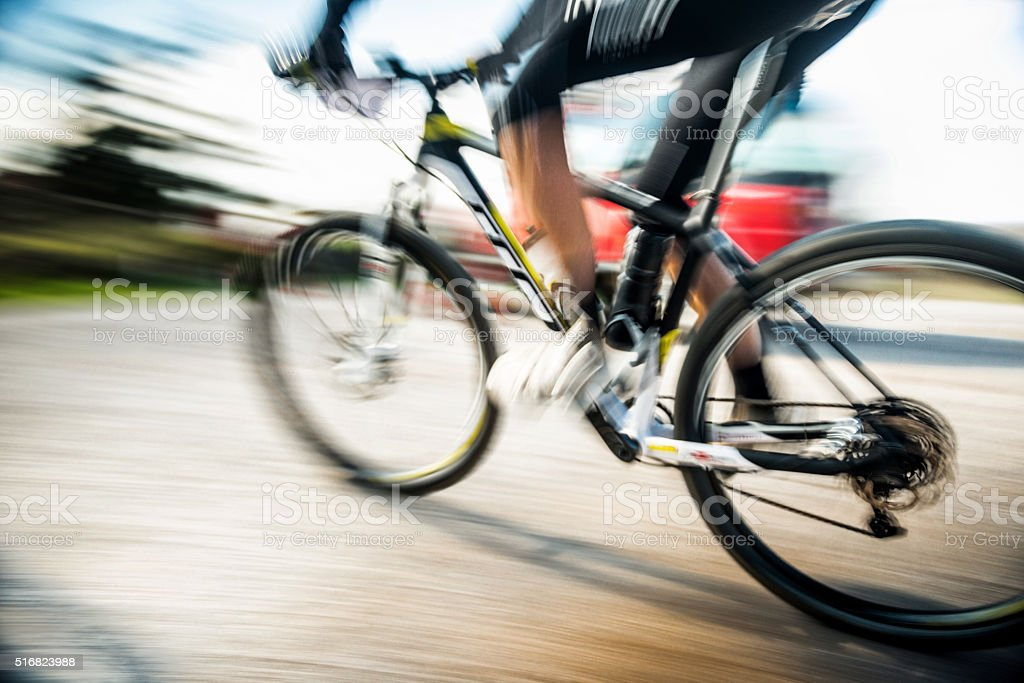 Mountain Biking stock photo