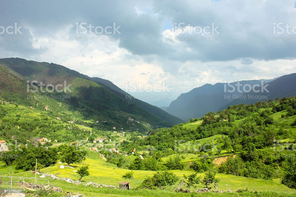 Mountain Bjelasnica Bosnia-Herzegovina stock photo
