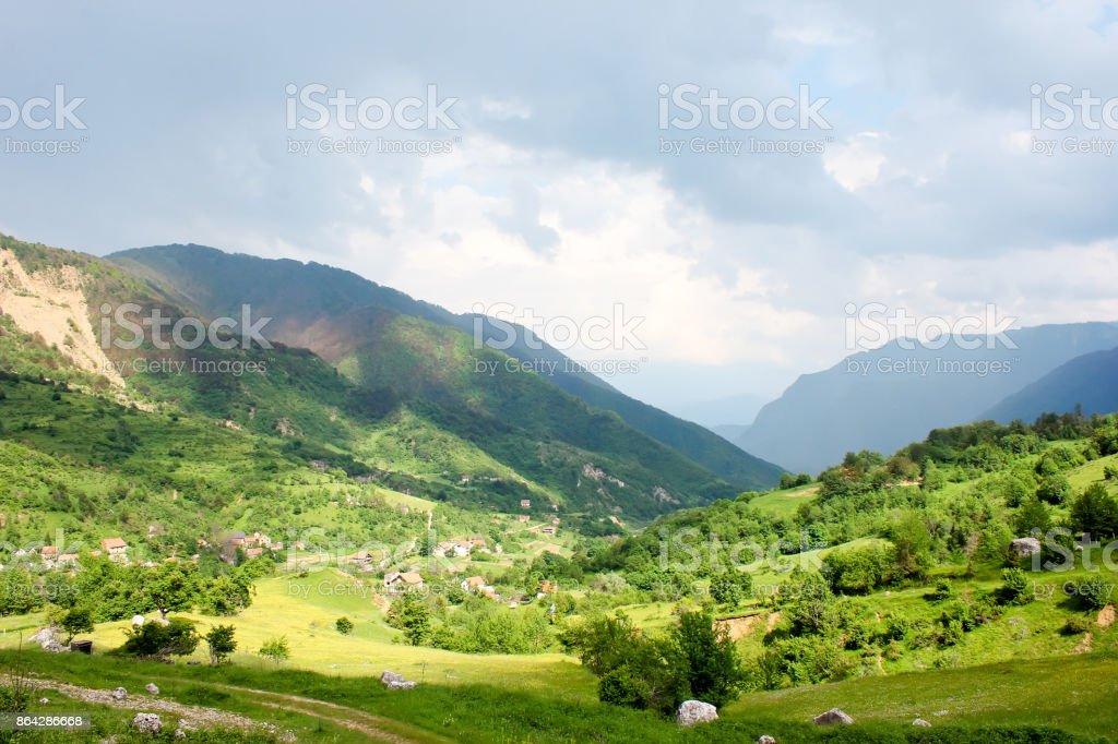 Mountain Bjelasnica Bosnia-Herzegovina royalty-free stock photo