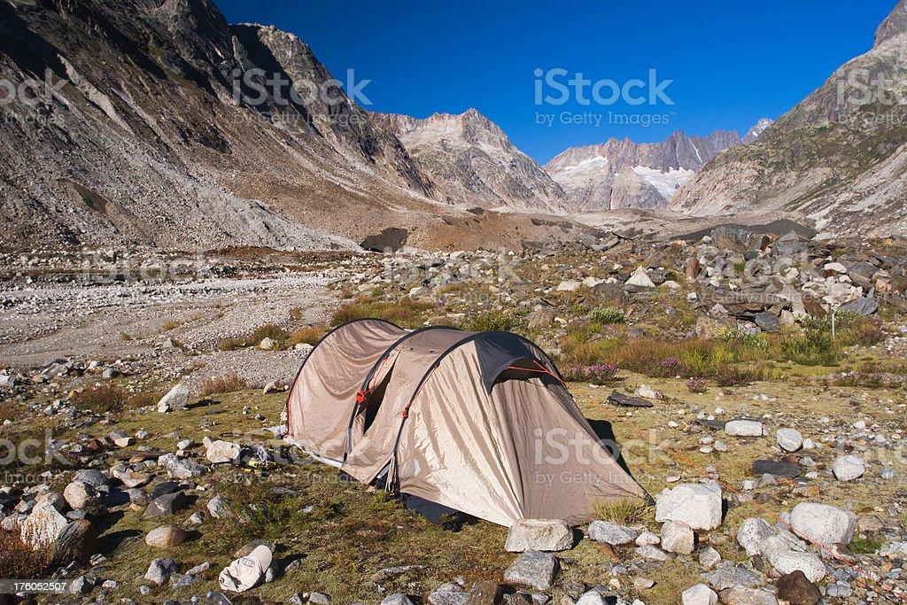Mountain Camping II royalty-free stock photo