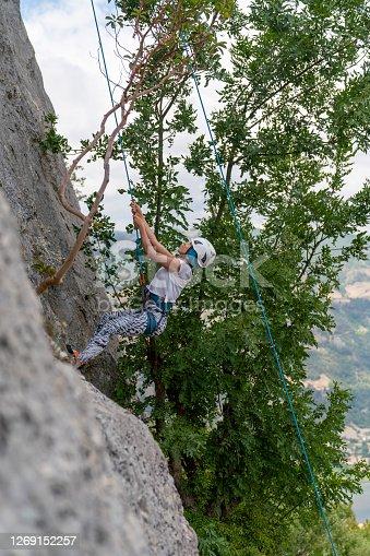 Mountain climbing training