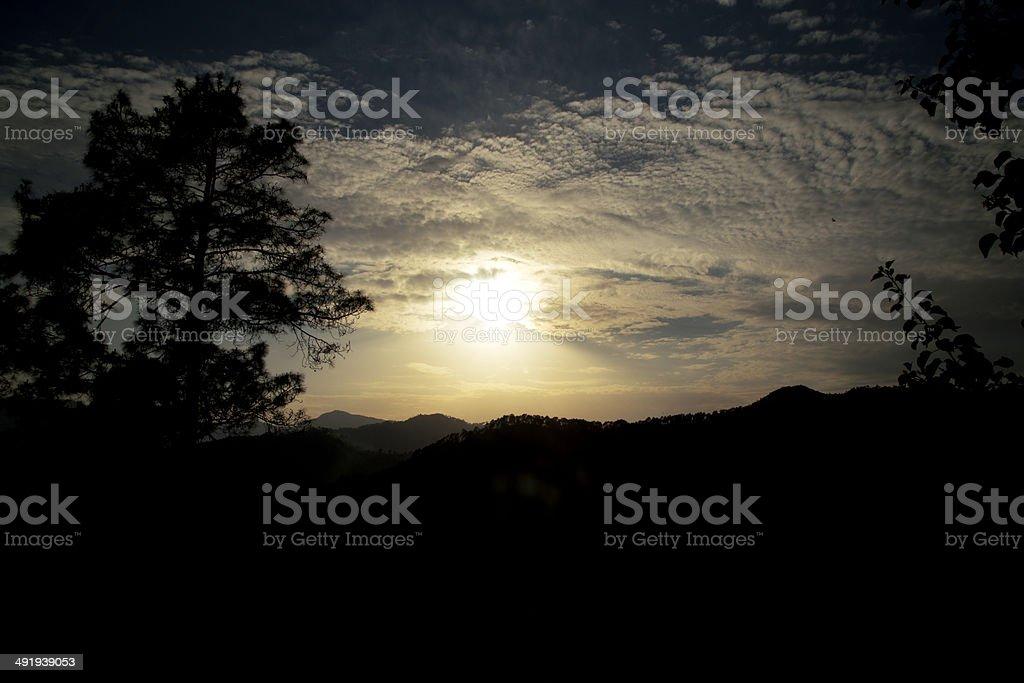 Mountain Dawn royalty-free stock photo