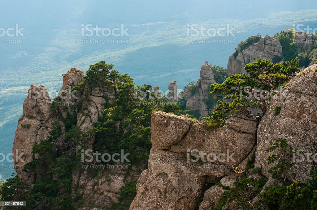 Mountain Demerdzhi in Crimea Lizenzfreies stock-foto