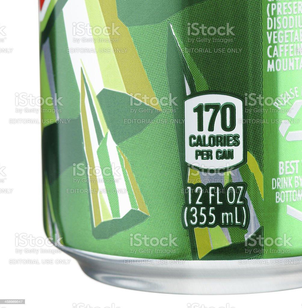 Mountain Dew Kalorien Stock-Fotografie und mehr Bilder von ...