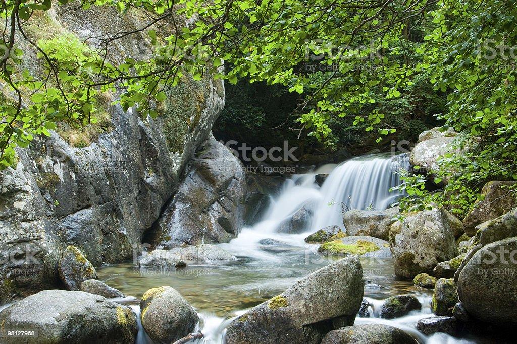 Mountain falls royalty-free stock photo