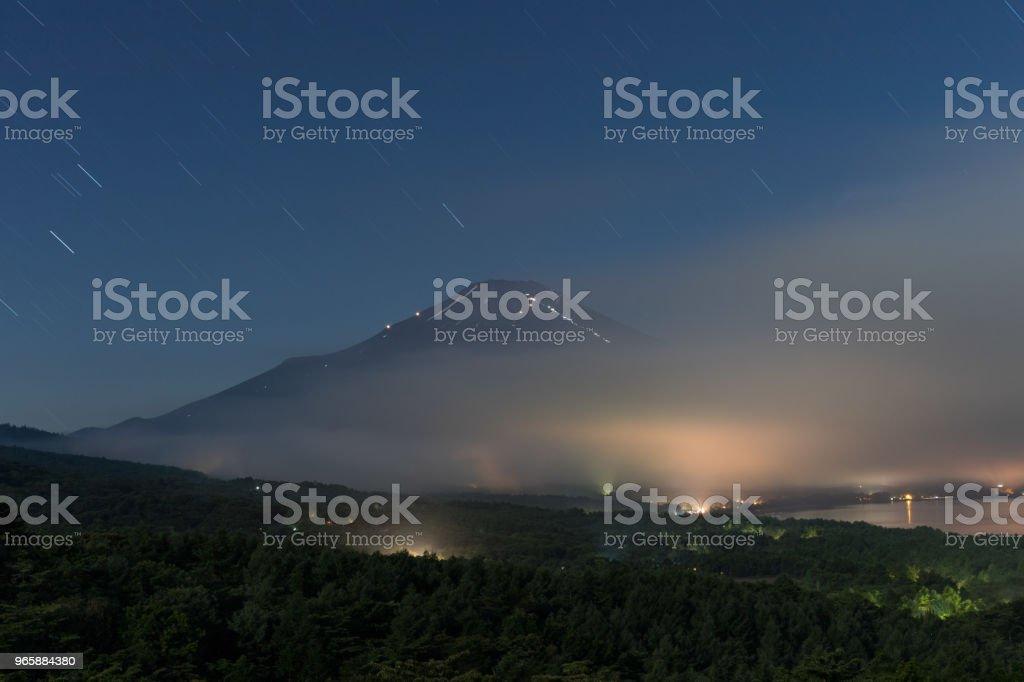 Berg Fuji - Royalty-free Azië Stockfoto