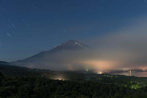 Berg Fuji Stockfoto en meer beelden van Azië