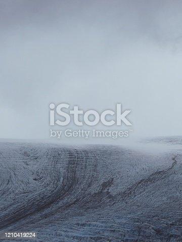 820775686 istock photo Mountain glacier 1210419224