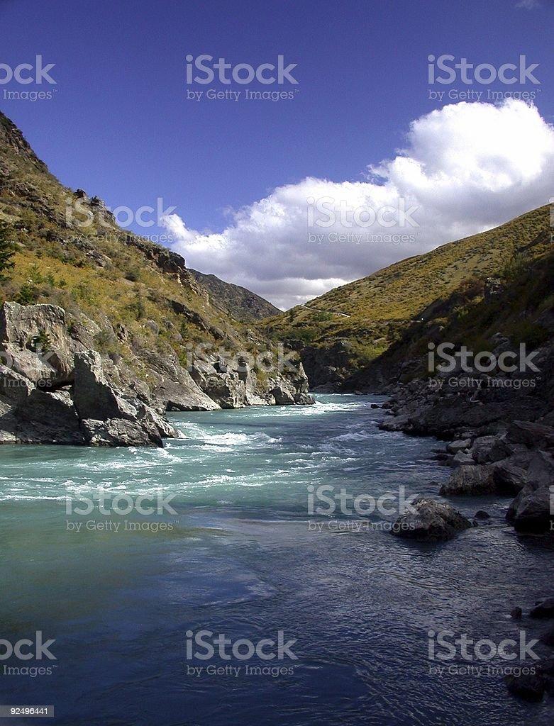 Mountain Gorge royalty-free stock photo