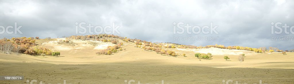 Mountain grasslands royalty-free stock photo