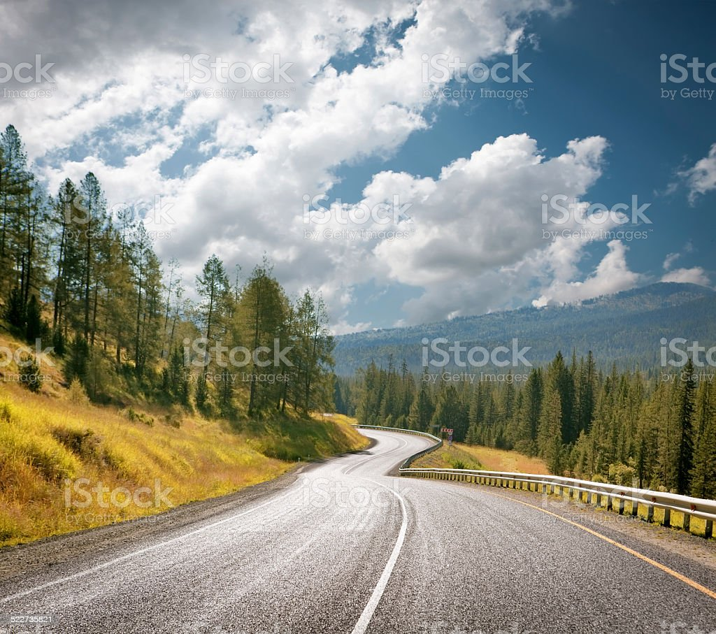 Mountain highway – Foto
