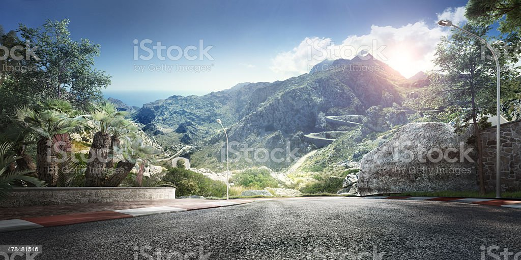 Mountain Highway Track – Foto