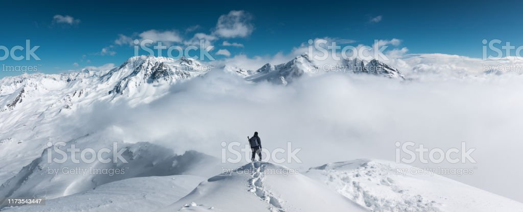 Mountain Hiking - Royalty-free Adulto Foto de stock