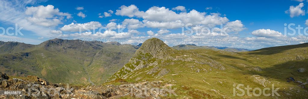 Mountain horizon, Lake District, UK royalty-free stock photo