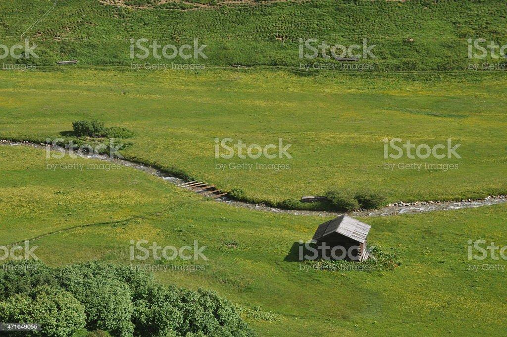 Berghütte in Österreich – Foto