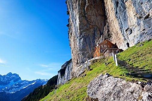 mountain hut restaurant