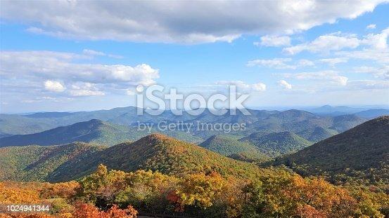 istock Mountain in Chattahoochee-oconee National forest 1024941344