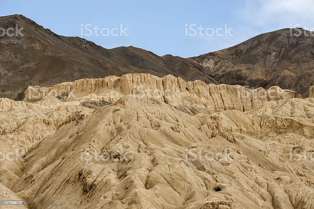 mountain in lamayuru,ladakh royalty-free stock photo