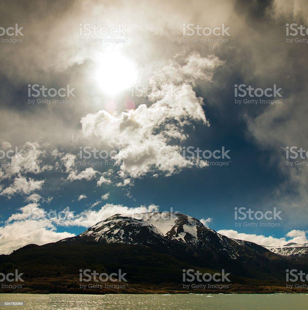 Las montañas en la patagonia, argentina 2 - foto de stock