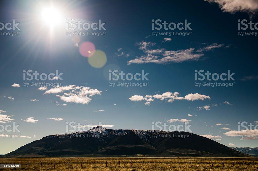 Montañas en la patagonia, argentina - foto de stock