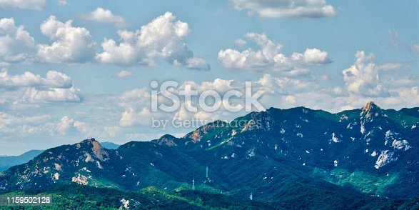 istock Mountain in Seoul City, Korea, Bukhan Mountain, Bukhansan 1159502128