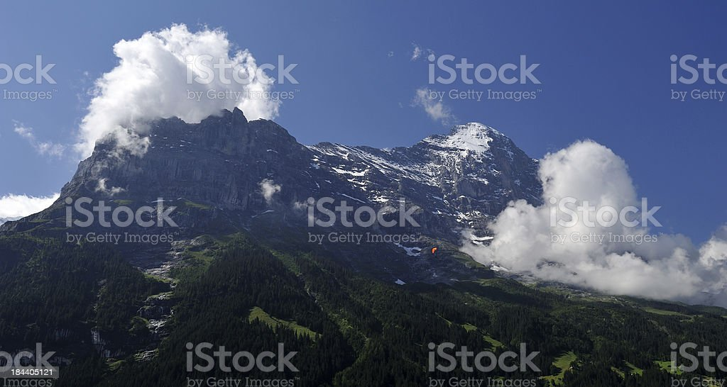Mountain in Switzerland royalty-free stock photo