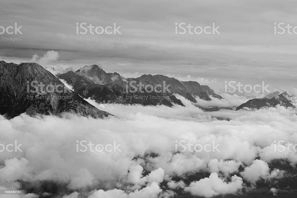 Mountain islands royalty-free stock photo