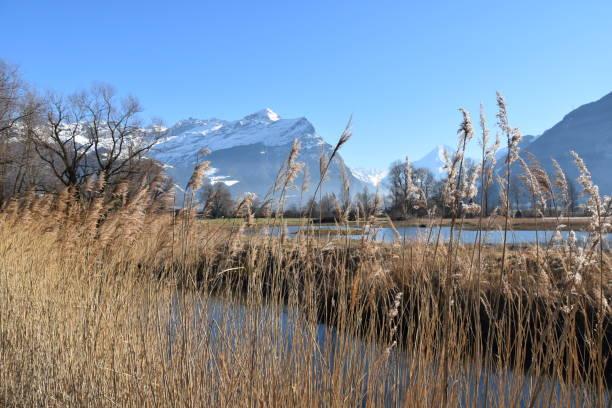 Mountain Lagoons stock photo