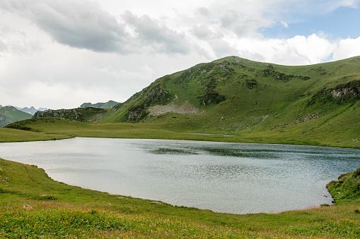 istock Mountain lake in Abkhazia 911352726