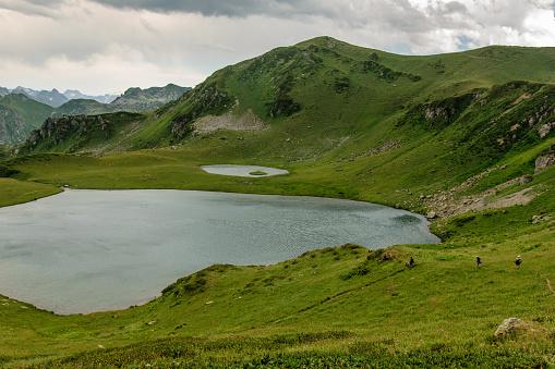 istock Mountain lake in Abkhazia 911352880