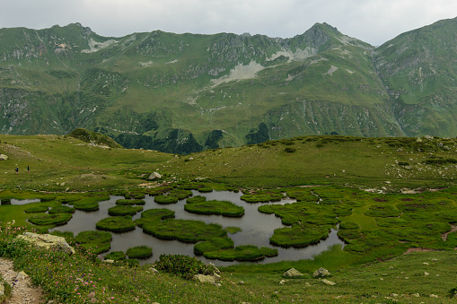 istock Mountain lake in Abkhazia 911358794