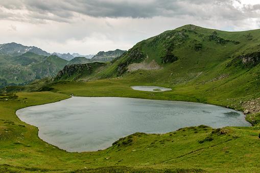 istock Mountain lake in Abkhazia 911358908