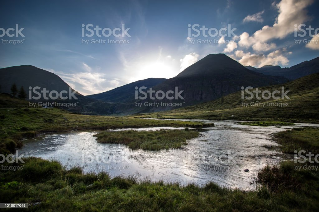 Mountain lake - Royalty-free Autumn Stock Photo